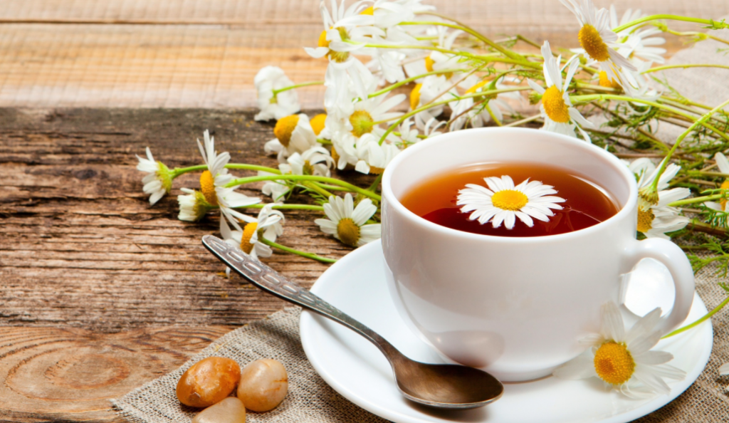chamomile tea beating stress chill out beverage