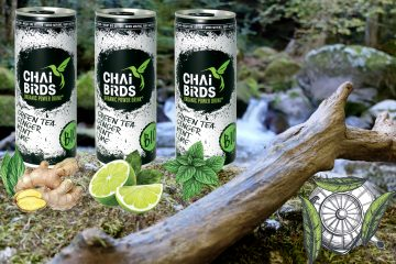 chai birds organic power drink Eistee geiler tee grunted greentea ginger Ingwer mint Minze Limette lime Krafttrunk zaubertrank miraculix energy drink made in Austria