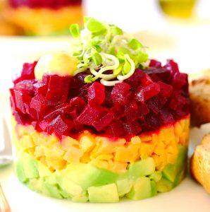 beef tartare vegan bio