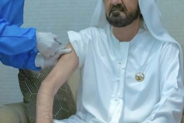 vaccine sheik arab emirates corona